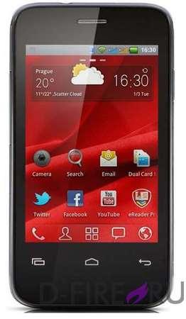 Смартфон Prestigio MultiPhone 3500 DUO черный