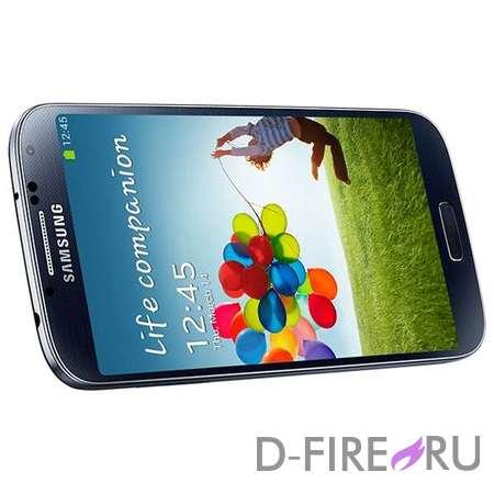Смартфон Samsung Galaxy S4 16Gb черный