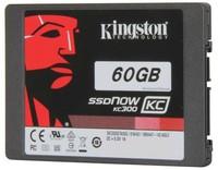 Твердотельный накопитель (SSD) Kingston KC300 60Gb
