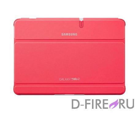 Чехол Samsung EFC-1H8SPECSTD для Tab 2 10.0/P51XX PU+plastic