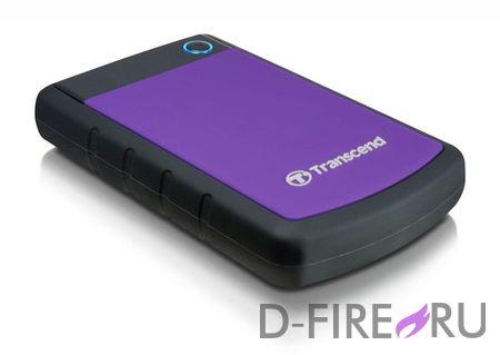Накопитель данных Transcend StoreJet 25H3P 1.5Tb USB 3.0