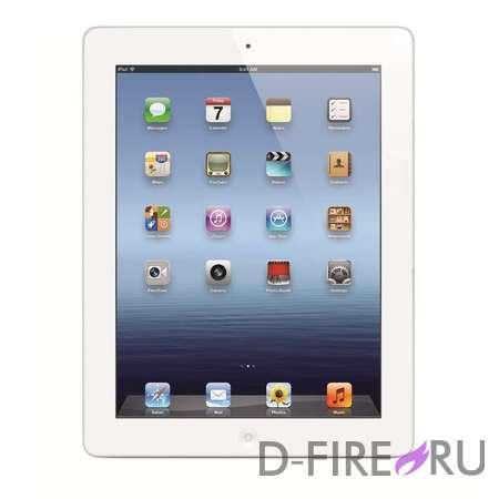 Планшетный компьютер Apple iPad 4 64Gb Wi-Fi + Cellular - Белый
