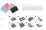 Чехол Asus для планшета Asus Vivo Tab Smart ME400C, цвет черный