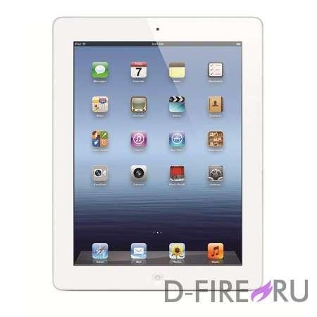 Планшетный компьютер Apple iPad 4 32Gb Wi-Fi + Cellular - Белый