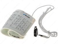 Клавиатура Bliss MFR109L гибкая , USB, white