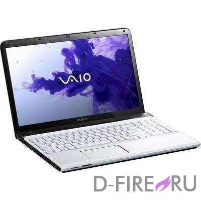 Ноутбук Sony VAIO® SVE1512H1R White