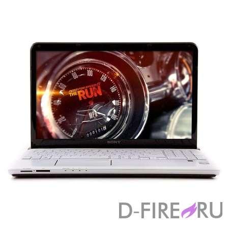 Ноутбук Sony VAIO® SVE1512G1R White