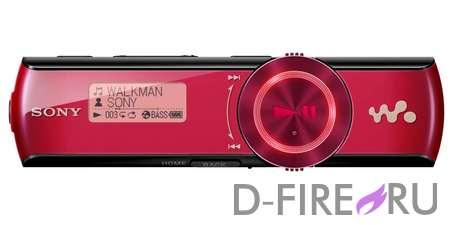 Плеер Sony NWZ-B173F/R