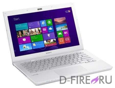 Ноутбук Sony VAIO® SVS1312E3R White