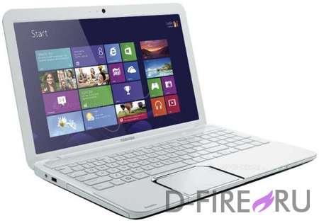 Ноутбук Toshiba Satellite L850-D7W Matt & Glossy White Pearl Finish
