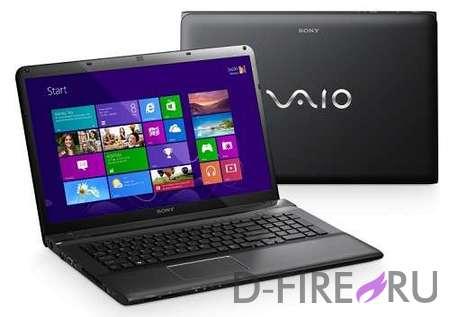 Ноутбук Sony VAIO® SVE1512D1R Black