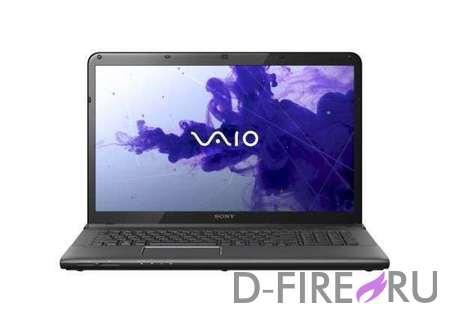 Ноутбук Sony VAIO® SVE1712V1R Black