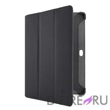 Чехол Belkin Tri-Fold Folio для Samsung Galaxy Tab 2 10.1'', ультратонкий, полиуретановый
