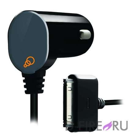 Автомобильное зарядное устройство CYGNETT GroovePower Auto II Car charger для iPad, iPhone & iPod. 2A.