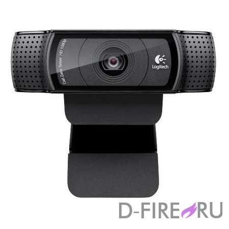 Web-камера Logitech WebCam C920 Full HD 1080p USB2.0