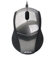 Мышь A4-Tech N-100-1 USB (CARBON)