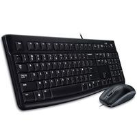 Комплект Logitech Desktop MK120 Black