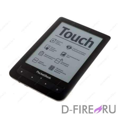 Электронная книга PocketBook Touch 622 черный