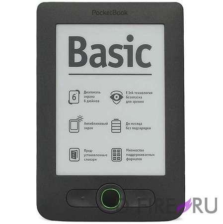 Электронная книга PocketBook 613 Basic серый