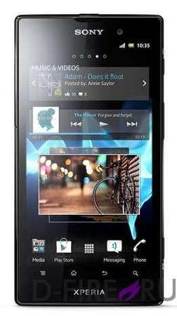 Смартфон Sony Xperia Ion (LT28h) черный