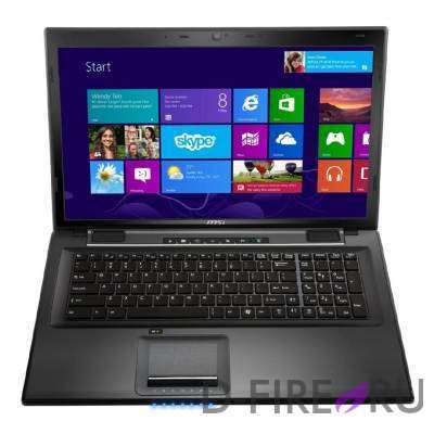 "Ноутбук MSI CX70 2OD-001RU (i7/8Gb/1Tb/17""/GTX740/W8)"