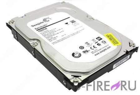 Жесткий диск Seagate 1TB 3,5 '' SATA 7200RPM