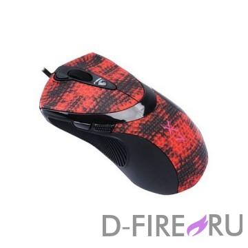 Мышь A4-Tech F7 (Snake Coating) USB