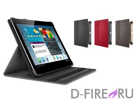 Чехол Belkin Cinema Folio Red для Samsung Galaxy Tab 2 10.1'' красный, ультратонкий, кожаный