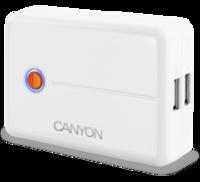 Внешний аккумулятор CANYON Power battery charger CNA-C03052W, цвет белый
