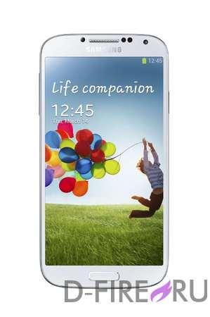 Смартфон Samsung Galaxy S4 16Gb белый