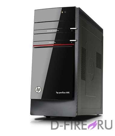 Компьютер HP Pavilion H8-1202e Black