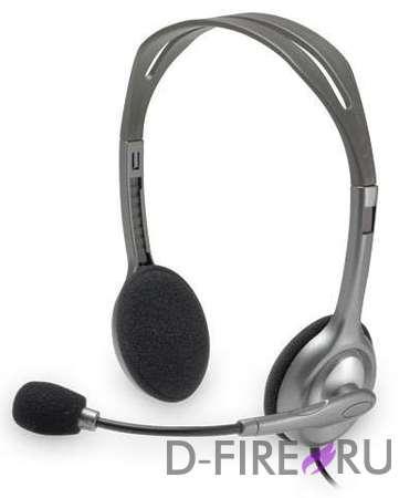 Гарнитура Logitech Stereo H110