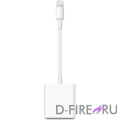 Адаптер Apple Lightning to USB Camera Adapter MD821ZM/A