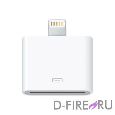 Адаптер Apple Lightning to 30-pin Adapter MD824ZM/A