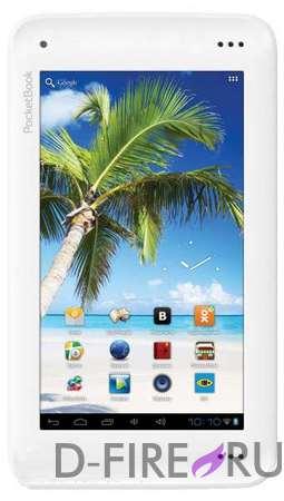 Электронная книга PocketBook U7 SURFpad, цвет черно-белый