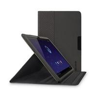 Чехол Belkin Slim Folio Stand для Samsung Galaxy Tab 2 10.1'' черный, замшевый