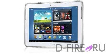 Планшетный компьютер Samsung GALAXY Note 10.1 (64Gb) белый