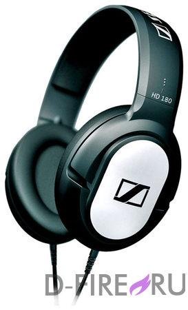 Наушники Sennheiser HD 180, полноразмерные, черный