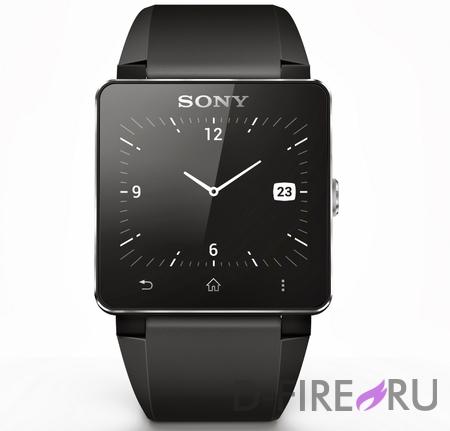 Наручные часы Sony SmartWatch 2 c металлическим ремешком