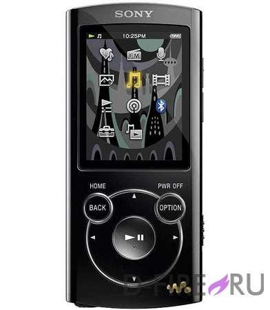 Плеер Sony NWZ-S763B