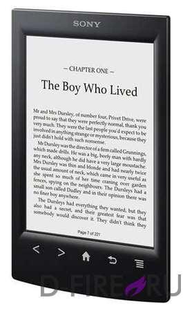 Электронная книга Sony PRS-T2 черная