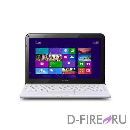 Ноутбук Sony VAIO SVE1513S1R White