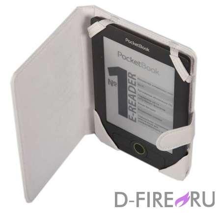 Обложка PocketBook для Basic 611/613, белая