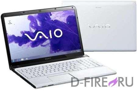 Ноутбук Sony VAIO® SVE1512S1R White