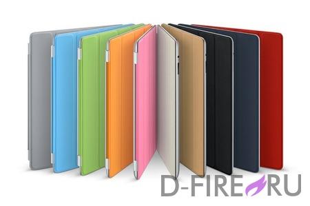 Чехол Apple iPad Smart Cover - Полиуретановый