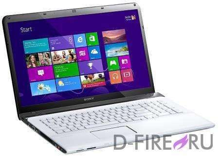 Ноутбук Sony VAIO® SVE1712E1R White