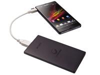 Внешний аккумулятор Sony CP-F5 5000 мАч, black