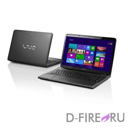 Ноутбук Sony VAIO® SVE1712T1R Black