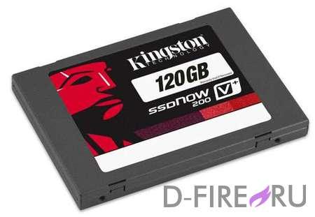 Твердотельный накопитель (SSD) Kingston V+200 120GB