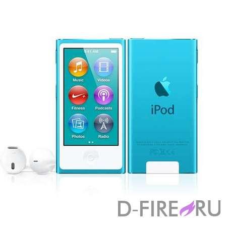 Плеер Apple iPod nano 16GB Blue